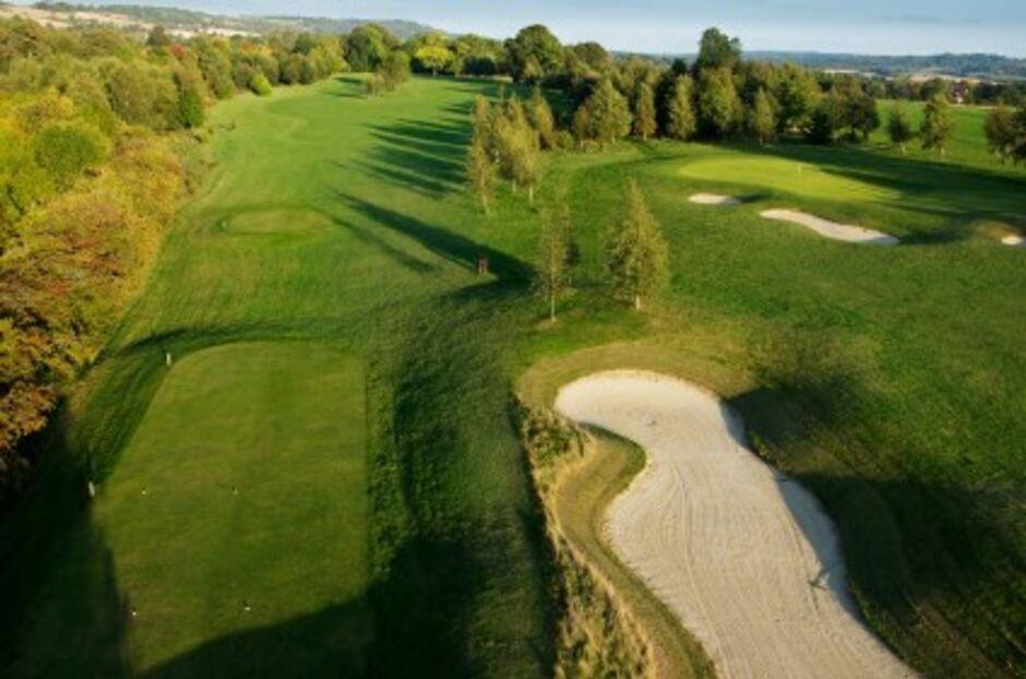 Golf course in Reigiate Hill, Surrey